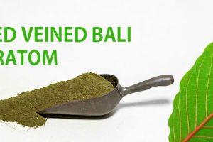 Red Vein Bali Kratom Effects