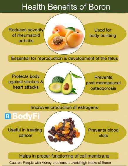 BORON benefits